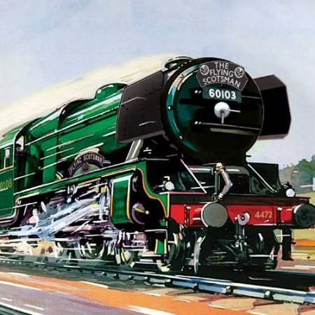 Flying Scotsman Posters
